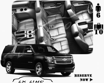 SUV Suburban for hire in Boston
