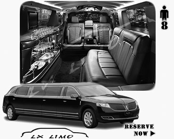 Stretch Wedding Limo for hire in Boston, ON, Canada