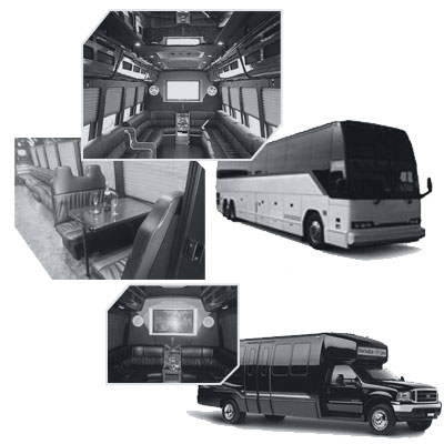 Party Bus rental and Limobus rental in Boston, MA