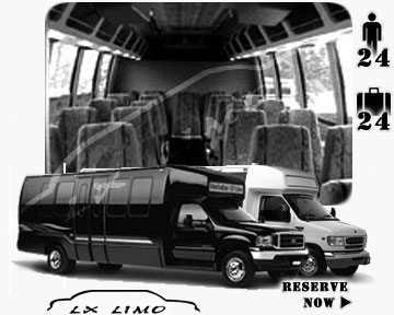 Bus for airport transfers in Boston, MA