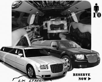 Chrysler 300 Limo for wedding in New York